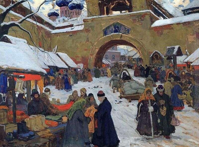 Базарний день в старому місті   Іван Горюшкін Сорокопудов