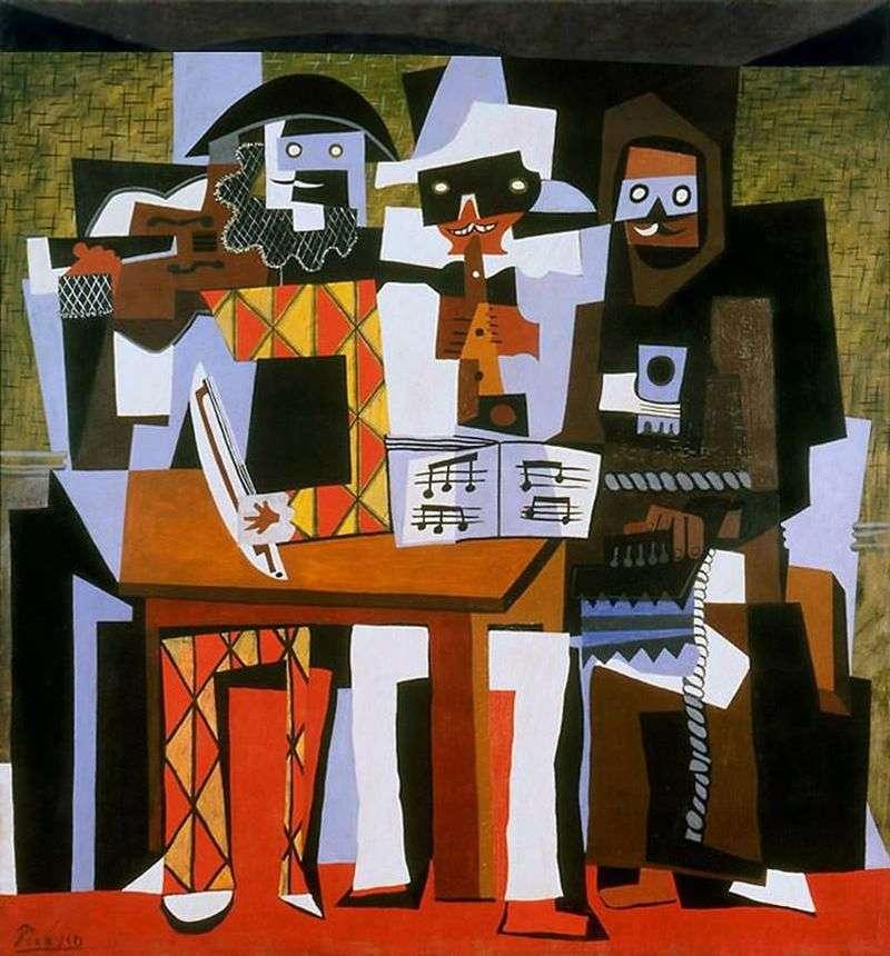 Три музиканти   Пабло Пікассо