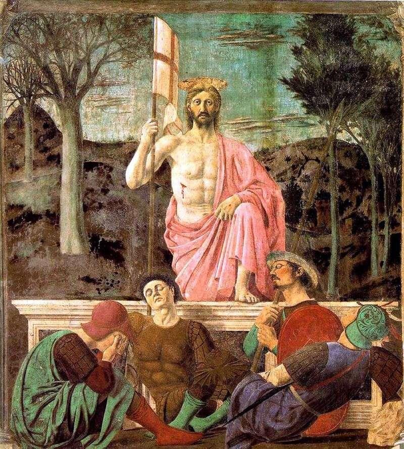 Воскресіння   Пєро делла Франческа
