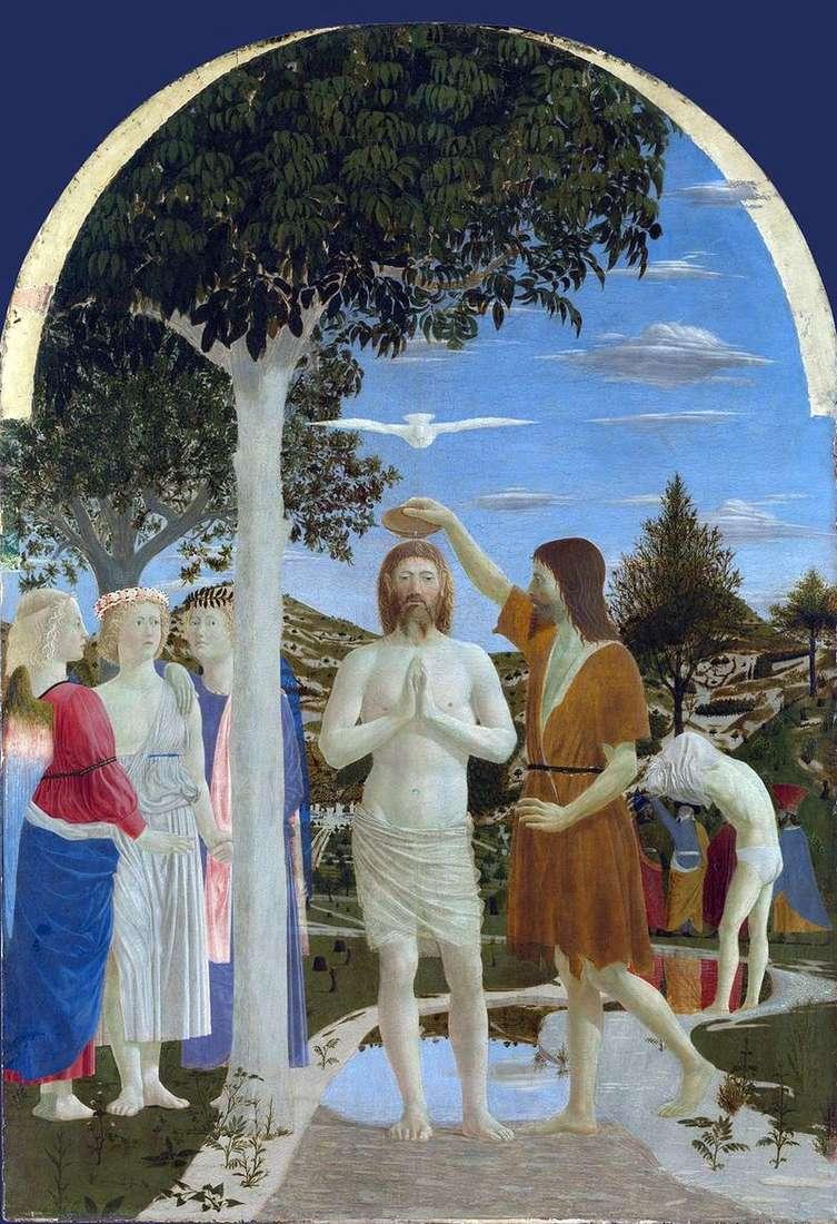 Хрещення Христа   Пєро делла Франческа
