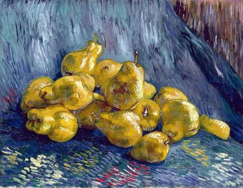 Натюрморт з грушами   Вінсент Ван Гог