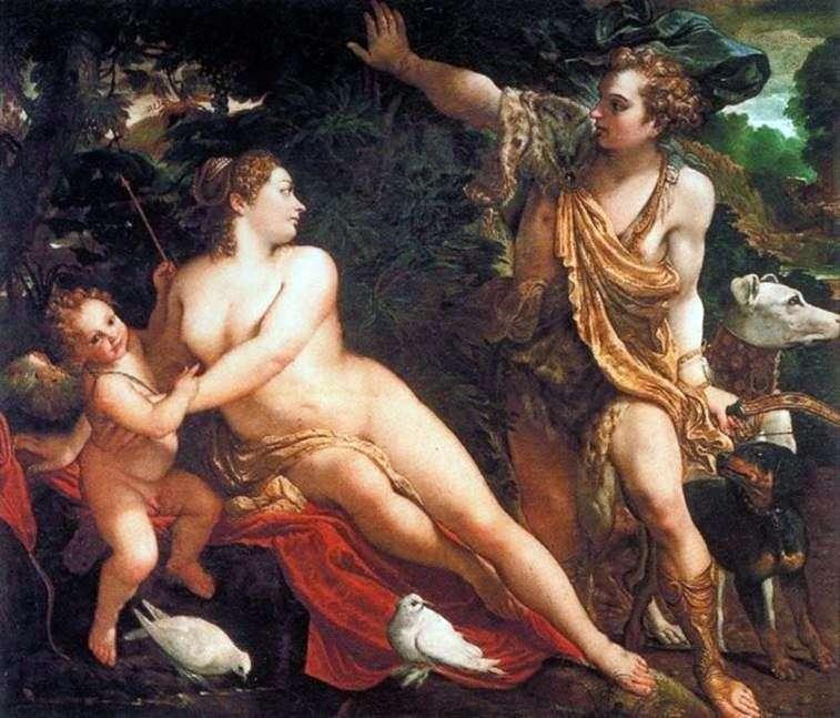 Венера і Адоніс Амур   Аннібале Карраччі