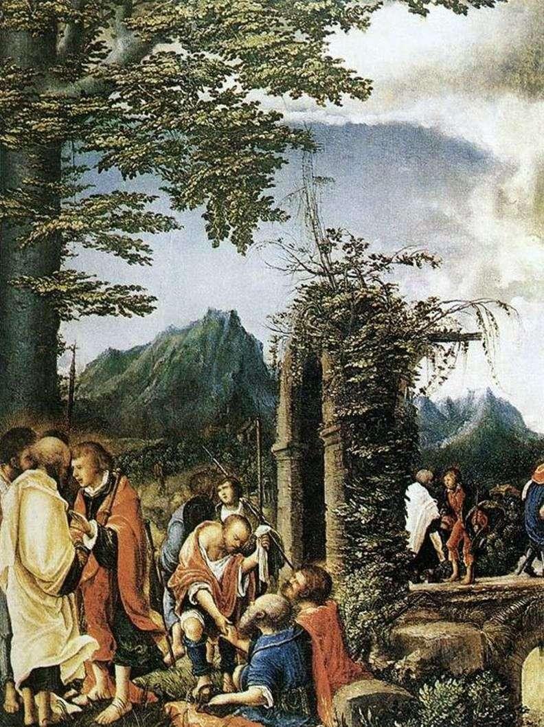 Причастя апостолів   Альбрехт Альтдорфер