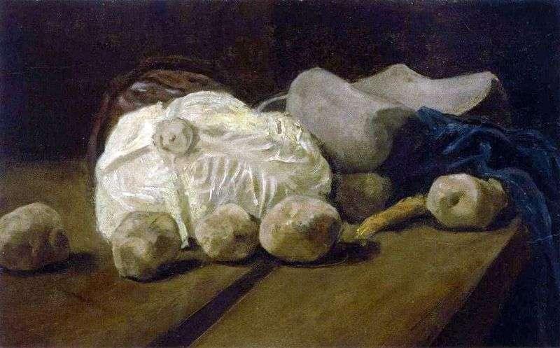 Натюрморт з капустою і деревяними черевиками   Вінсент Ван Гог