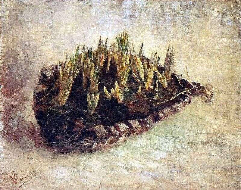 Натюрморт з кошиком крокусів   Вінсент Ван Гог