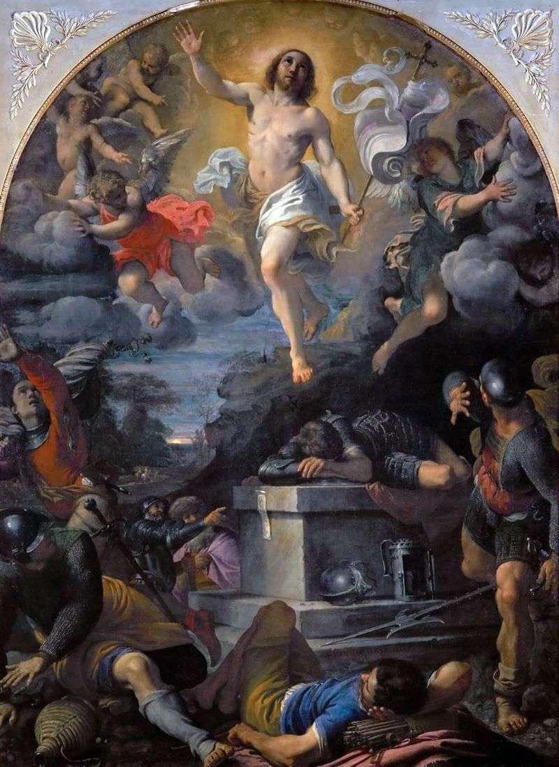 Воскресіння Христа   Аннібале Карраччі
