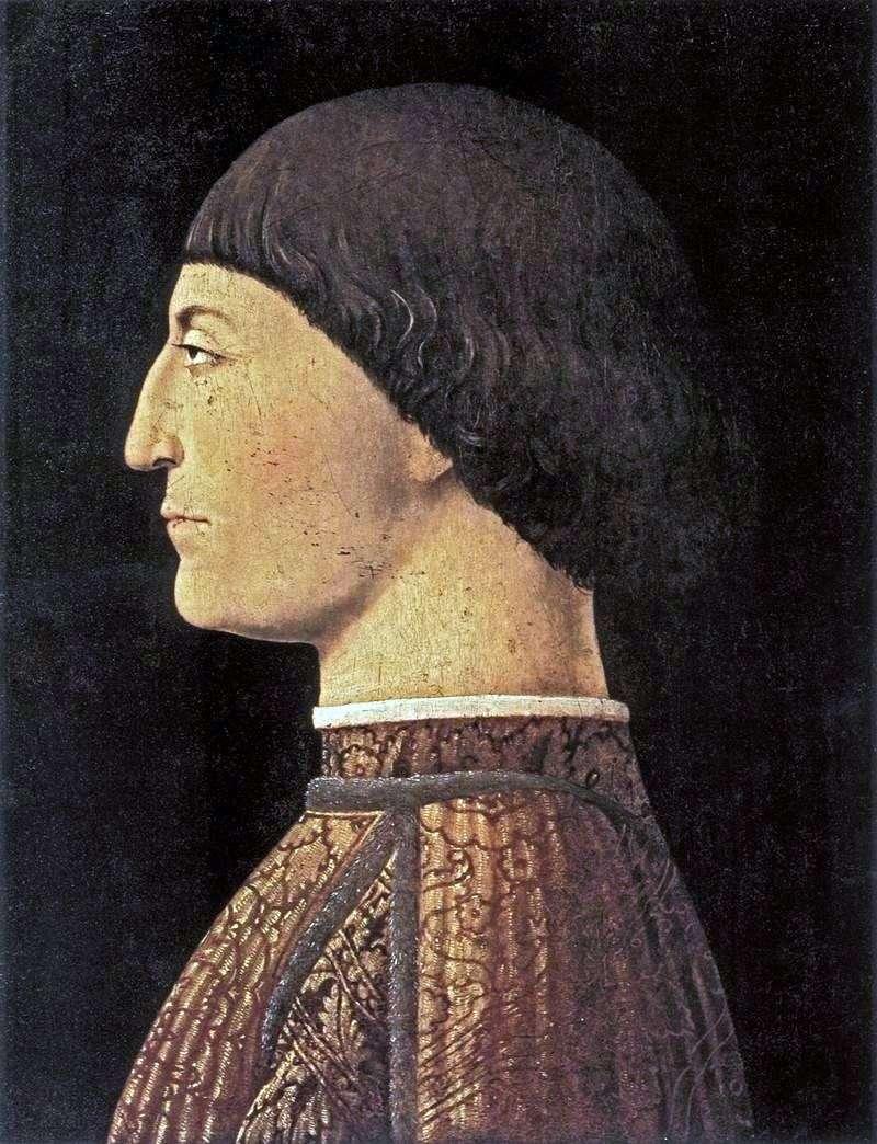 Портрет Сиджизмондо Малатеса   Пєро делла Франческа