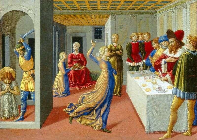 Свято Ірода і усікновення глави Іоанна Хрестителя   Беноццо Гоццолі