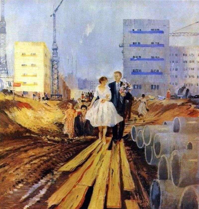 Весілля на завтрашній вулиці   Юрій Піменов