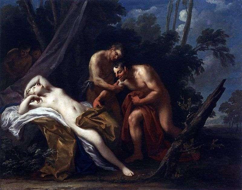 Сатир і спляча німфа   Якопо Амигони