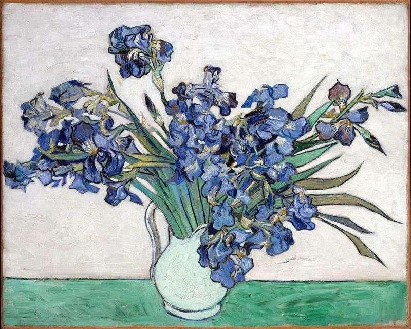 Натюрморт: ваза з ірисами   Вінсент Ван Гог