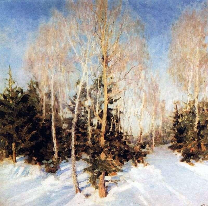 Зимовий пейзаж   Ігор Грабар