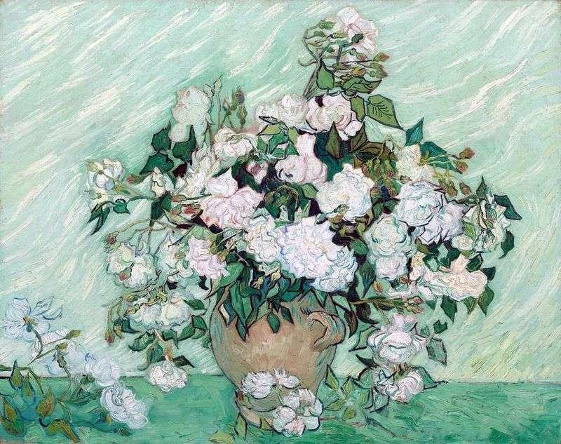Натюрморт: ваза з трояндами   Вінсент Ван Гог