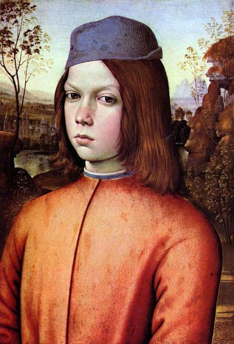 Портрет хлопчика   Пінтуріккіо