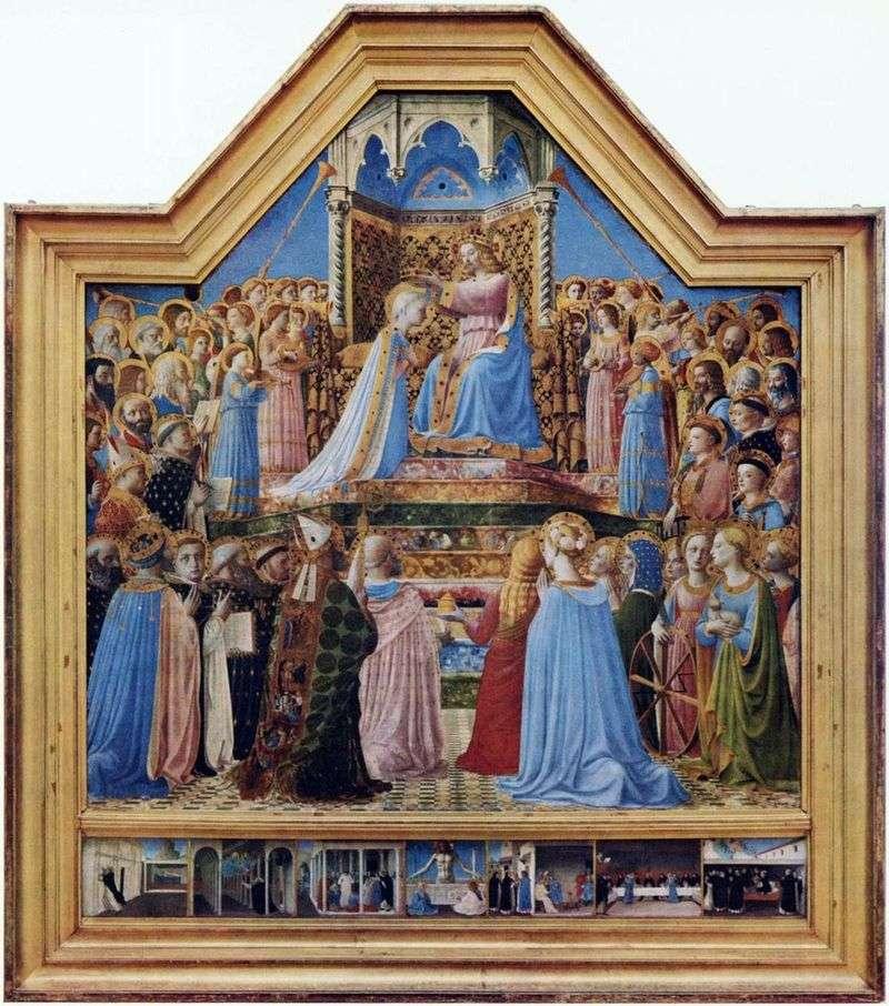 Коронування Діви Марії   Фра Беато Анджеліко