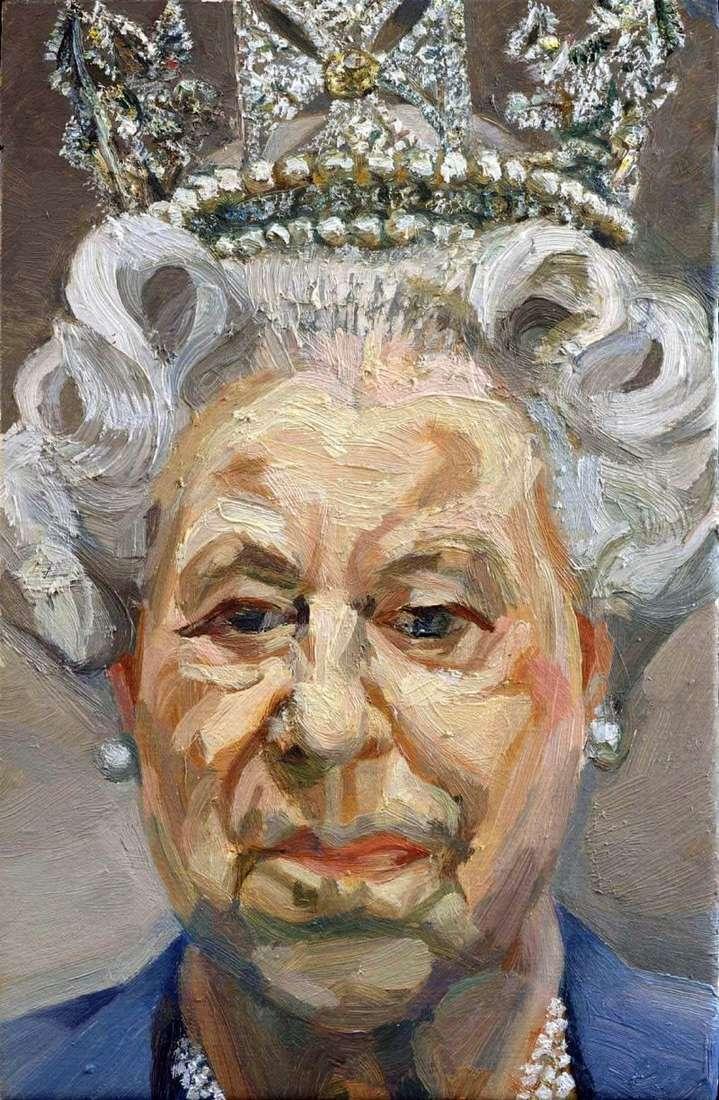 Королева Єлизавета II   Люсьєн Фрейд