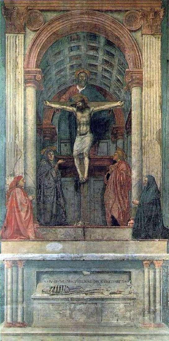 Трійця   Мазаччо