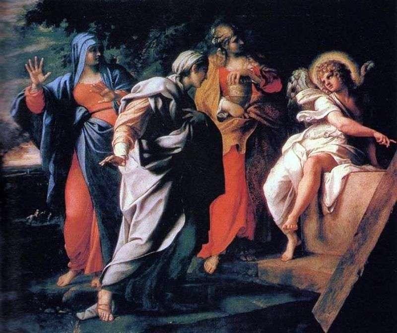Три Марії біля гробу Господнього   Аннібале Карраччі