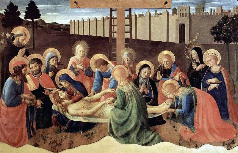 Зняття з хреста   Фра Беато Анджеліко