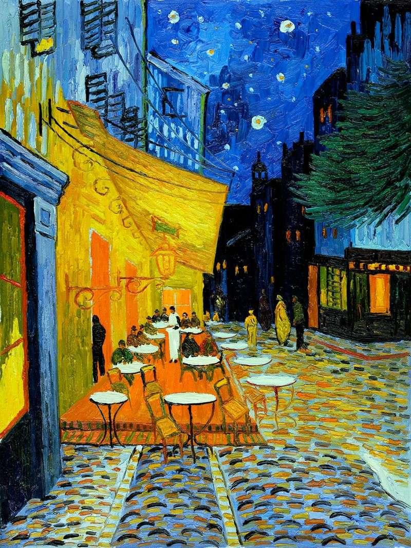 Нічна тераса кафе   Вінсент Ван Гог