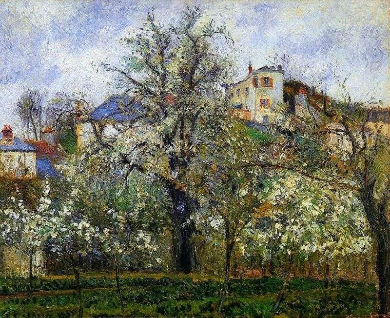Весна в Понтуазі   Каміль Піссарро