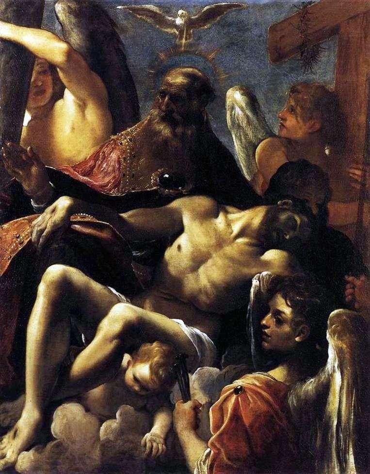 Трійця і смерть Христа   Лудовико Карраччі