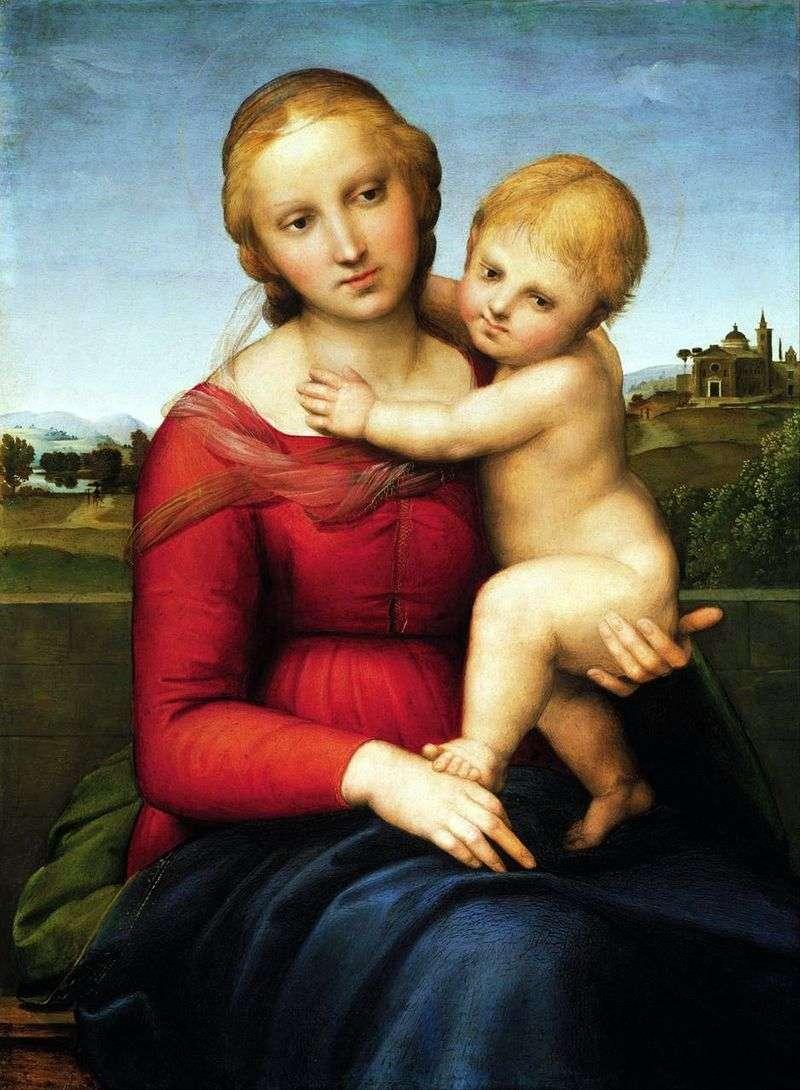 Мадонна з немовлям   Рафаель Санті