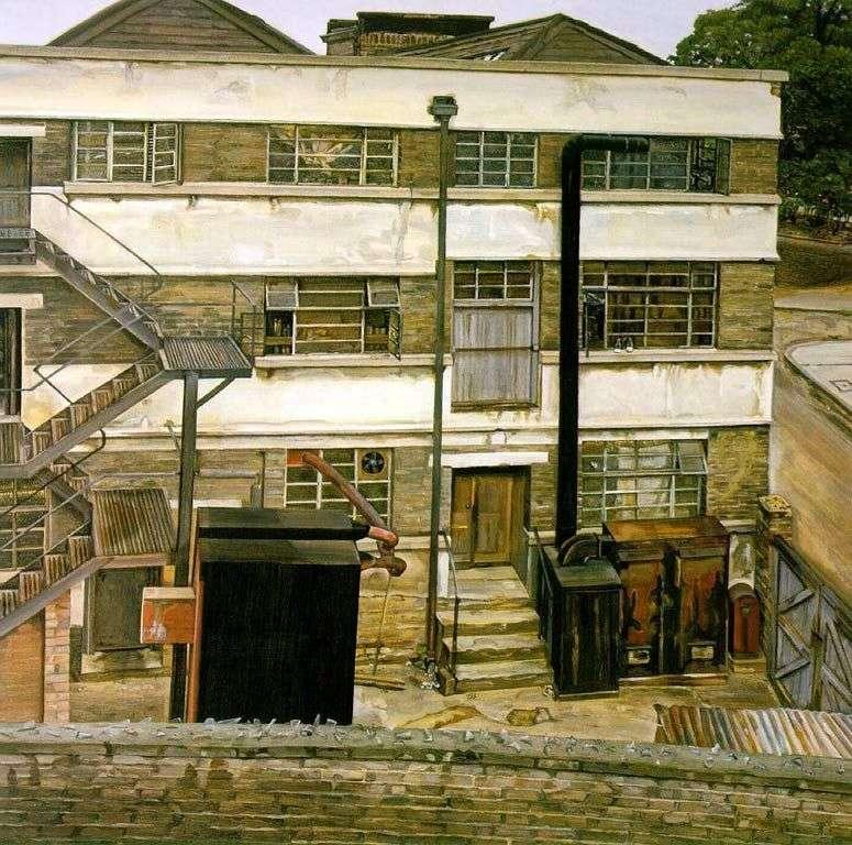 Фабрика в Лондоні   Люсьєн Фрейд