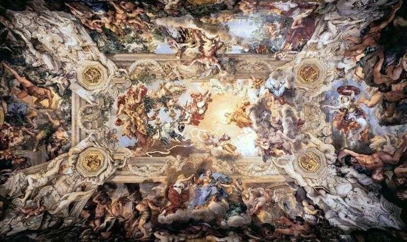 Алегорія божественного провидіння   Пьєтр так Кортон