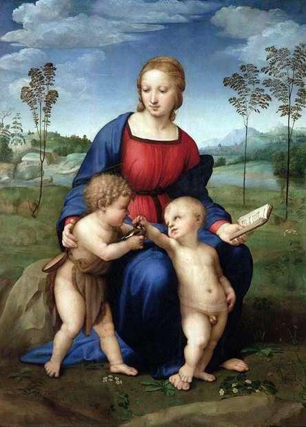 Мадонна з дитиною   Рафаель Санті