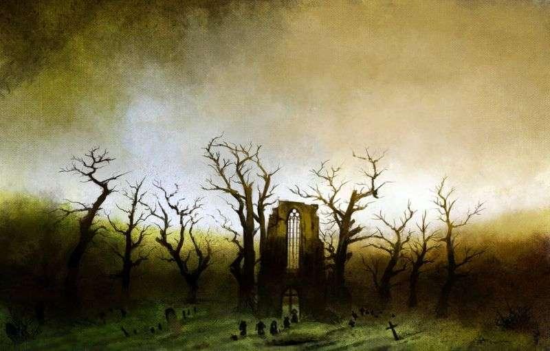 Абатство в дубовому лісі   Каспар Давид Фрідріх