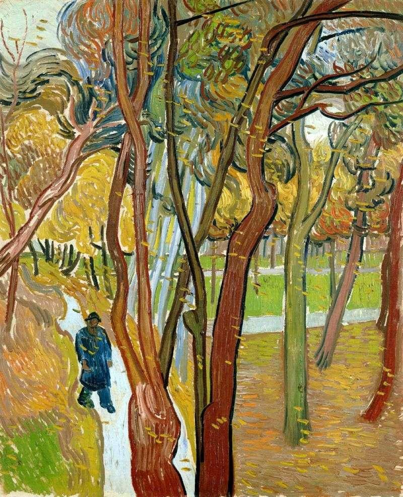 Осінній листопад, прогулянка   Вінсент Ван Гог