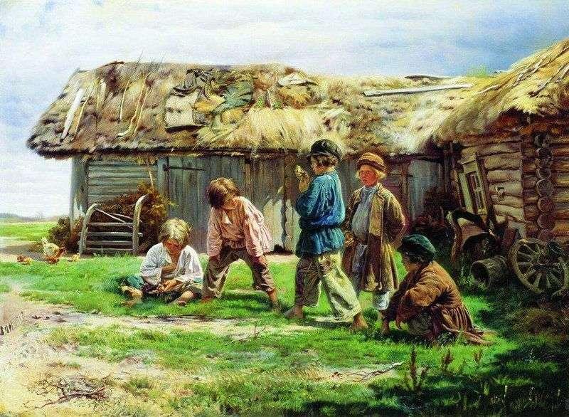 Гра в бабки   Володимир Маковський