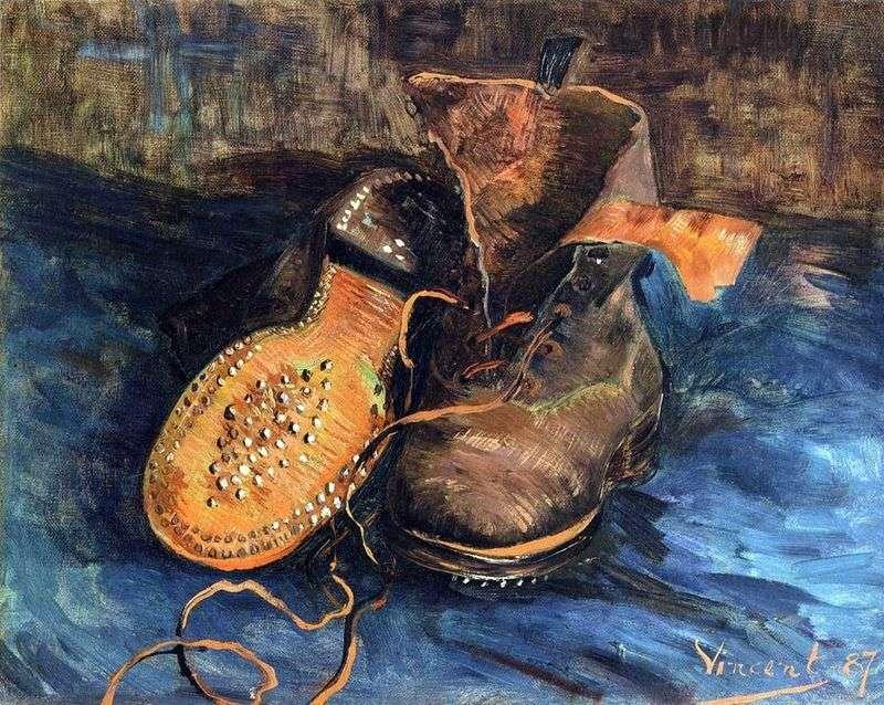 Пара взуття (Черевики)   Вінсент Ван Гог