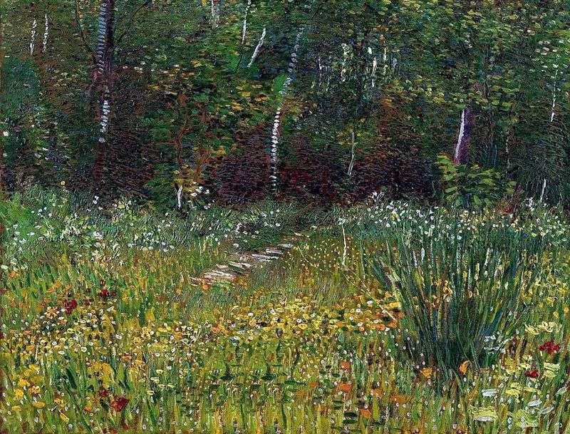 Парк в Аньере навесні   Вінсент Ван Гог