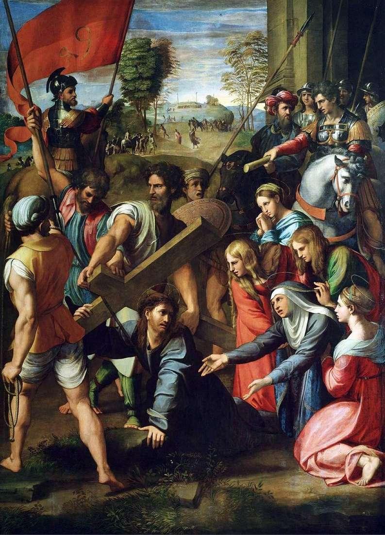 Несення хреста   Рафаель Санті