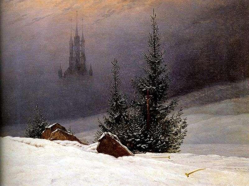 Зимовий пейзаж   Каспар Давид Фрідріх