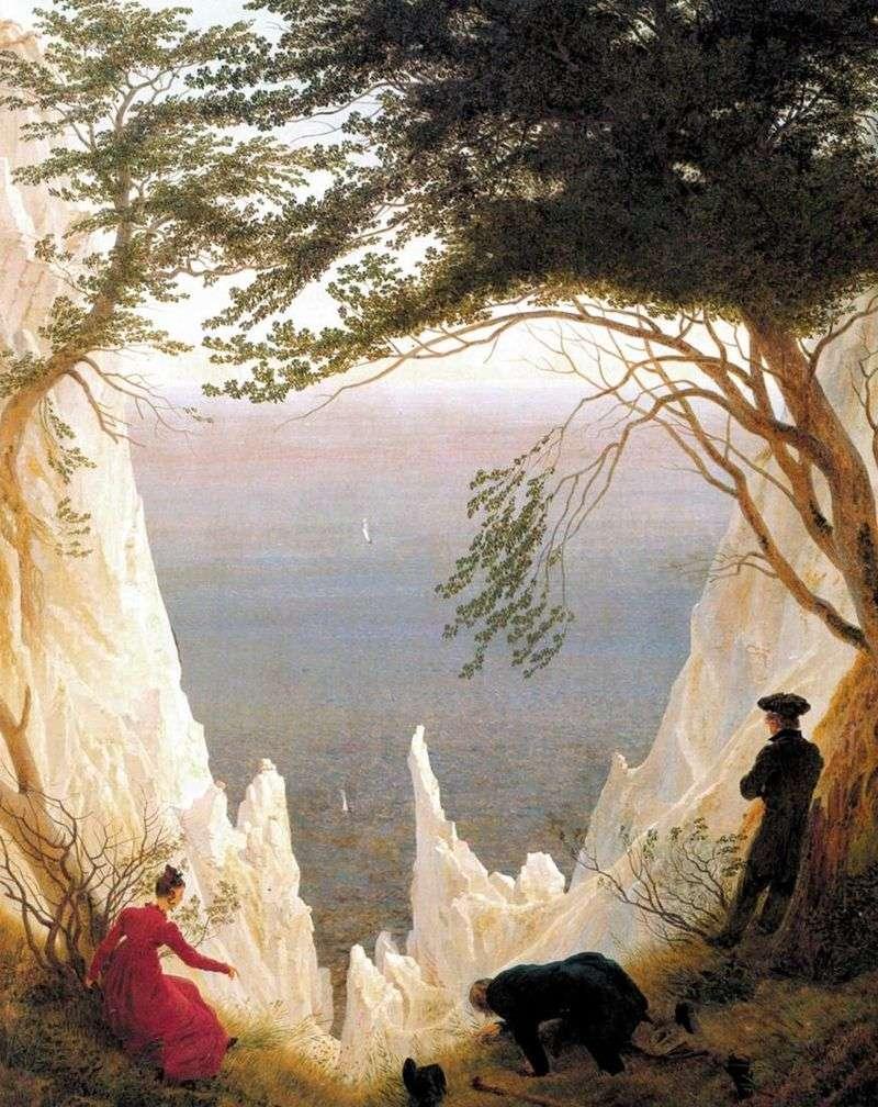 Крейдяні скелі на острові Рюген   Каспар Давид Фрідріх
