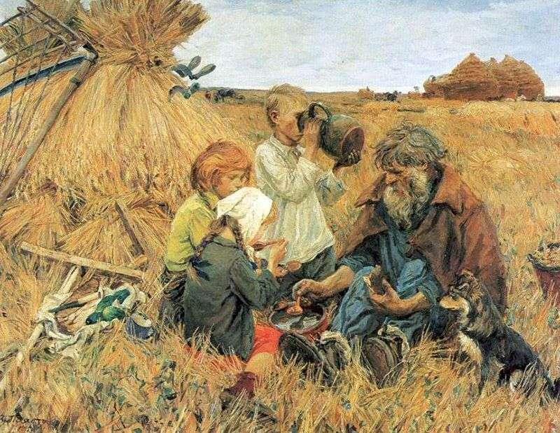 Жнива   Аркадій Пластов