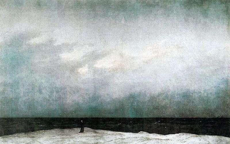 Чернець біля моря   Каспар Давид Фрідріх