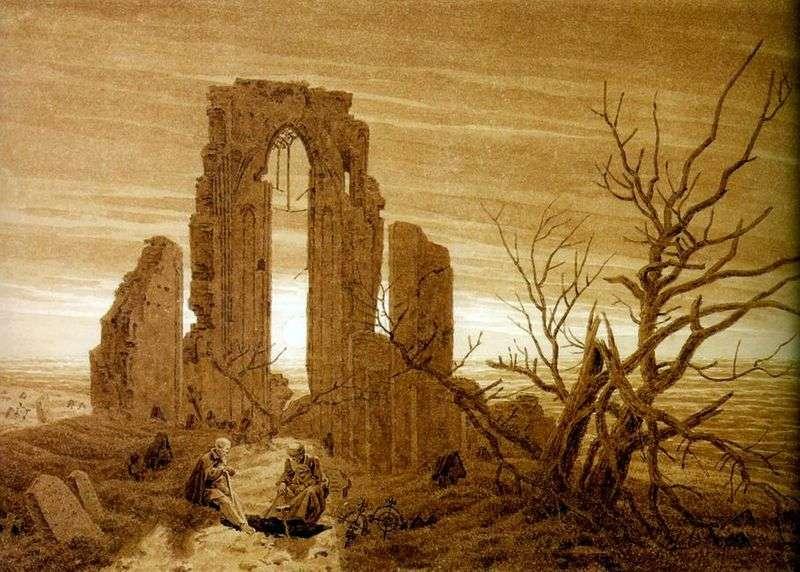Руїни абатства в Эльдене   Каспар Давид Фрідріх