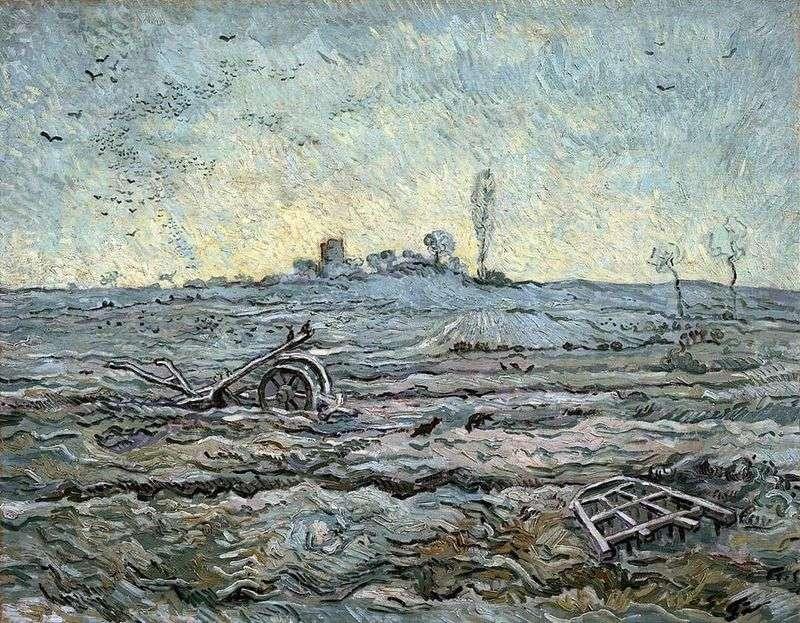 Плуг та борона (за Міллем)   Вінсент Ван Гог