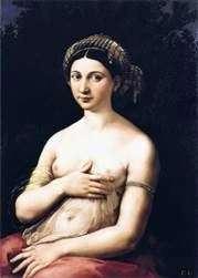 Портрет молодої жінки або Форнарина   Рафаель Санті