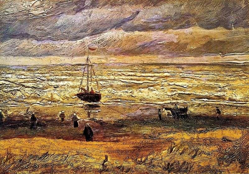 Пляж в Схевенінгені   Вінсент Ван Гог