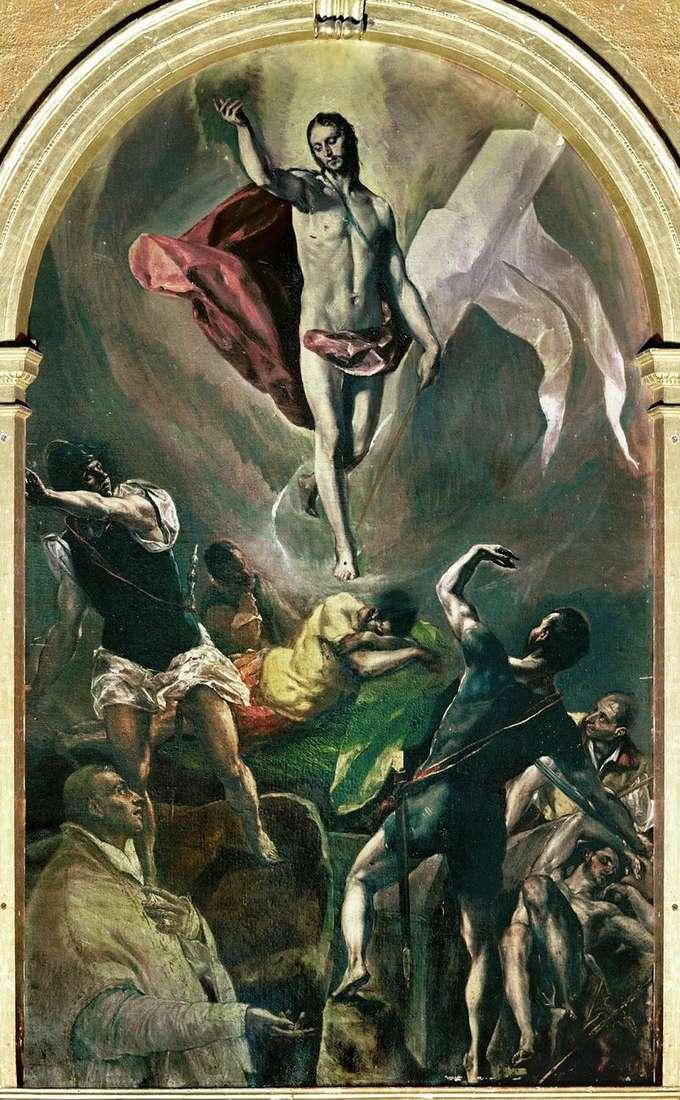 Воскресіння   Ель Греко