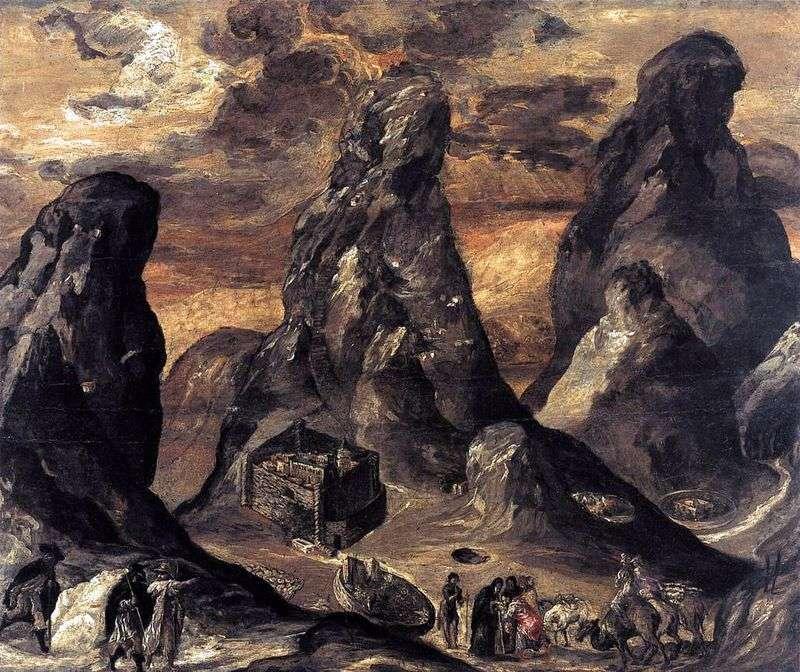 Гора Синай   Ель Греко