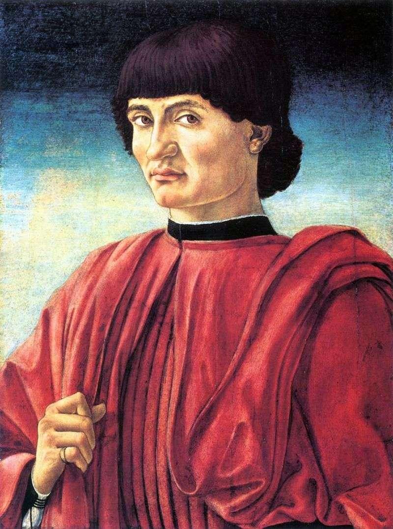 Чоловічий портрет   Андреа Кастаньо