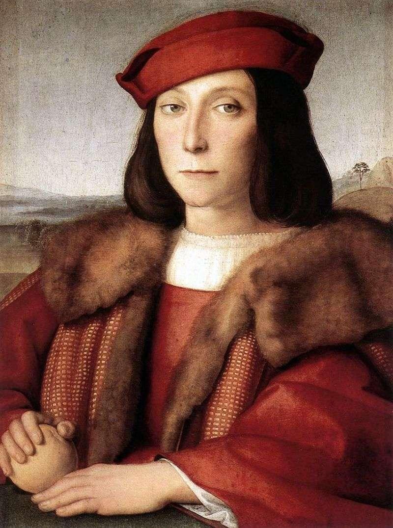 Портрет Франческо Марії делла Ровере   Рафаель Санті