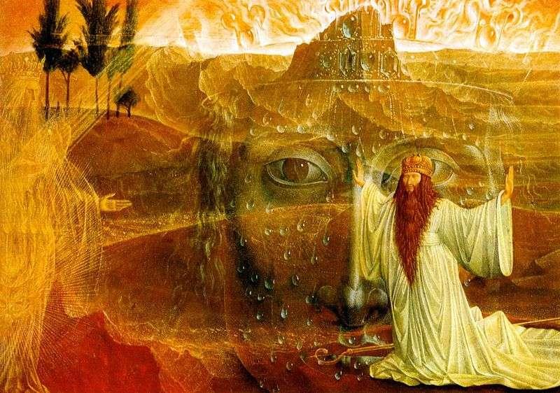 Мойсей та Неопалима купина   Ернст Фукс