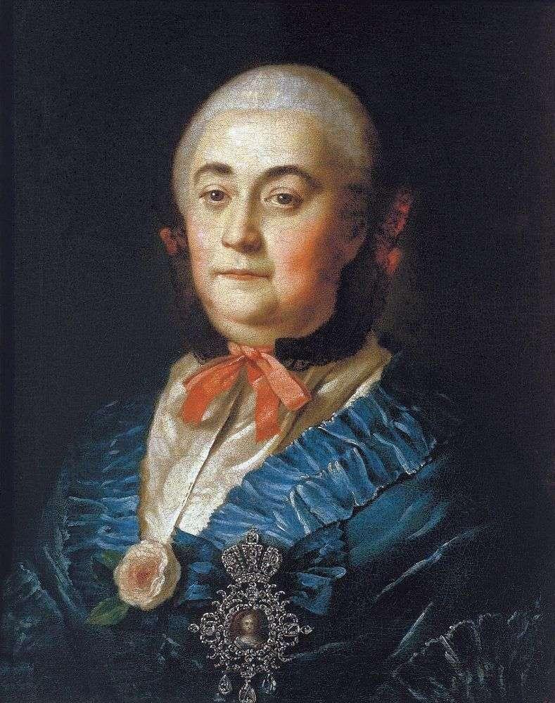 Портрет статс дами Анастасії Михайлівни Ізмайлової   Олексій Антропов